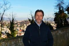 Tourist at Castello, Conegliano Veneto, Italy Royalty Free Stock Images