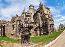 Tourist center Castle Garibaldi in Samara region, Russia Stock Photo