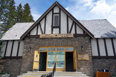 The tourist centre in the town of banff Royalty Free Stock Photos