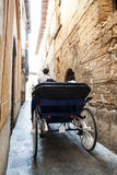 Tourist chariot in Palma de Mallorca Stock Photography