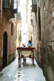 Tourist chariot in Palma de Mallorca Royalty Free Stock Photos