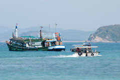 Tourist charter boat ferry Royalty Free Stock Image