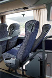 Tourist Coach Seats Stock Photo