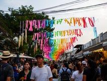 People at chatuchak market,bangkok,Thailand royalty free stock images