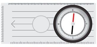 Tourist compass Stock Photos