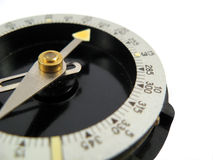 Tourist compass navigate needle Stock Photo