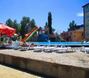 Tourist complex, Zatoka, Ukraine Stock Images