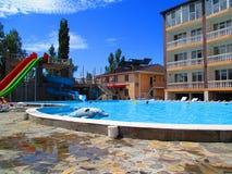 Tourist complex, Zatoka, Ukraine Stock Photos