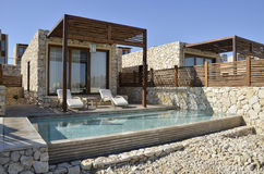 Tourist cottage in Negev , Israel. Royalty Free Stock Photo