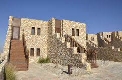 Tourist cottages in Negev desert, Israel. Royalty Free Stock Image