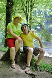 Tourist couple Royalty Free Stock Photography