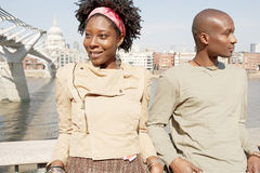 Tourist couple in London. Stock Image