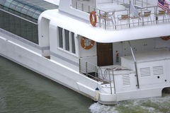 Tourist cruise boat Stock Photography