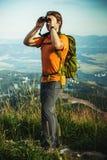 Tourist des jungen Mannes Lizenzfreies Stockbild