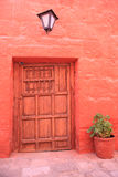 Tourist destination, Arequipa - Peru. Royalty Free Stock Photography