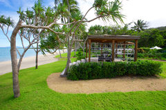 Tourist destination Australia. Hayman Island, a popular tourist destination in Queensland Australia Stock Image