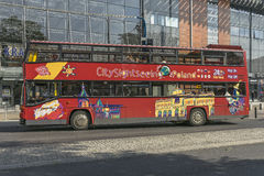 Tourist double-decker bus Stock Image