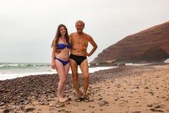 Tourist in einer Reise herein durch Marokko lizenzfreie stockfotografie