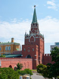 The tourist entrance to Moscow Kremlin. Royalty Free Stock Photography