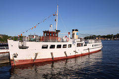 Tourist ferry Royalty Free Stock Images