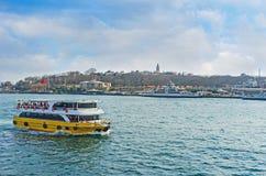 The tourist ferry Stock Photo