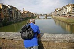 Tourist Florence Royalty Free Stock Photo