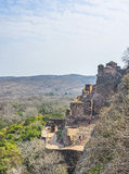 Tourist on Fort. Tourist visiting the Ranthambhore fort, Rajashtan,India Royalty Free Stock Images