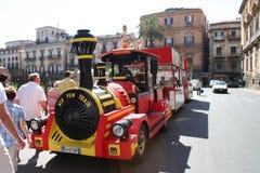 Tourist Fun Train Royalty Free Stock Photography