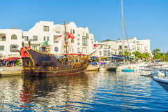 The tourist galleon Royalty Free Stock Images