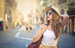 Tourist stock photos