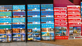 Tourist Guide Books, Spain Royalty Free Stock Image