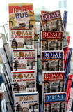 Tourist guides of Rome Stock Photos