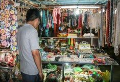 The tourist in handicraft shop,nha trang,vietnam Stock Photos