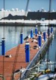 Tourist harbor, winter Stock Image