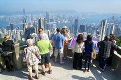 Tourist in Hong Kong Stock Photos