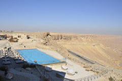 Tourist hotel in Negev desert. Stock Images