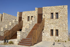Tourist hotel in Negev desert, Israel. Stock Photography