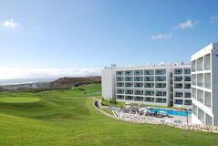 Tourist hotel Portugal Royalty Free Stock Photography