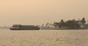 Tourist Houseboat Alleppey Kerala India