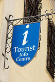Tourist info centre sign Royalty Free Stock Photos