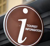 Tourist Information Stock Photo