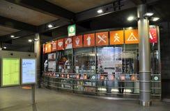 Tourist information center in Antwerp train station Stock Photos