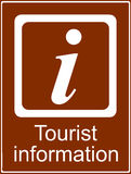Tourist information point Stock Images