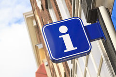 Tourist information sign Royalty Free Stock Photo