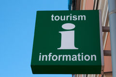 Tourist information Sign Royalty Free Stock Images