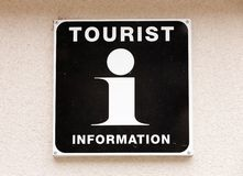 Tourist information Royalty Free Stock Photo