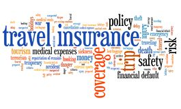 Tourist insurance Royalty Free Stock Photo