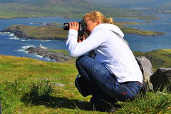 Tourist in Ireland Stock Photos