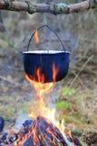 Tourist kettle Stock Image