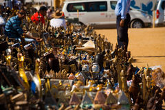 Tourist Kitsch Giza Pyramid Viewpoint Stock Photography